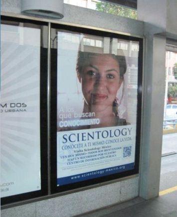 Mupi de Scientology