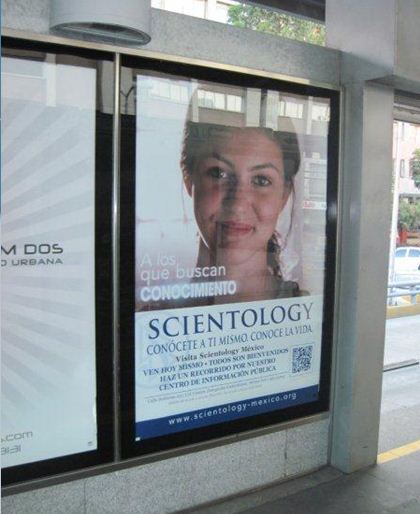 Mupi de Scientology