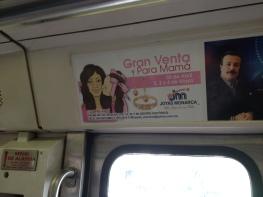 Dovela en metro