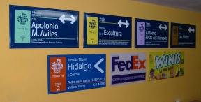 nomenclaturas para calles