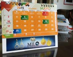 Calendario frente